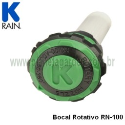 Bocal Rotativo Ajustável (para aspersores Pop-Up Spray) - (2,40 a 4,30 m) - RN100-ADJ - KRain